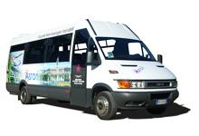 Noleggio con conducente autobus 19 posti